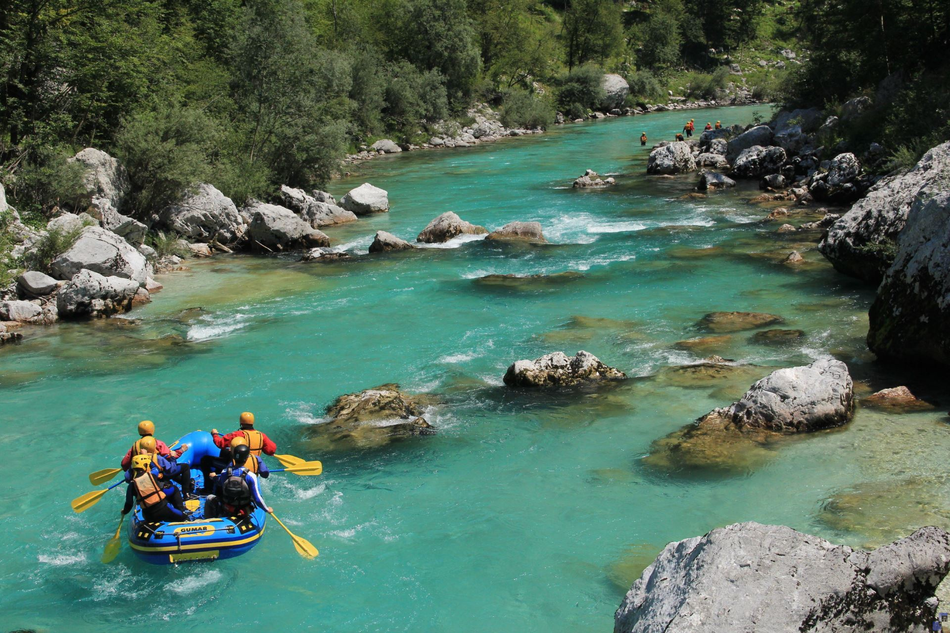 SOCA RIVER VALLEY NATURE ADVENTURE TOUR WITH RAFTING